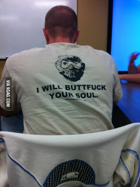 This guy sat in front of my in my class.