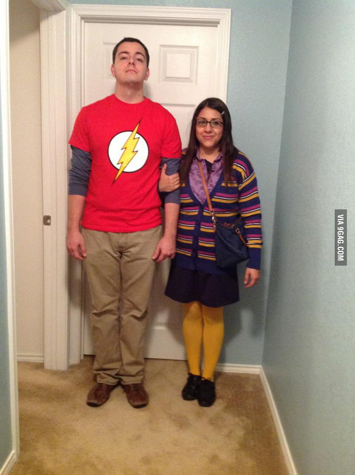 They just had to buy the flash shirt