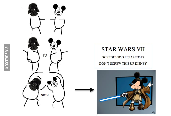 Disney Bought Lucas Films and STAR WARS VII comes in 2015