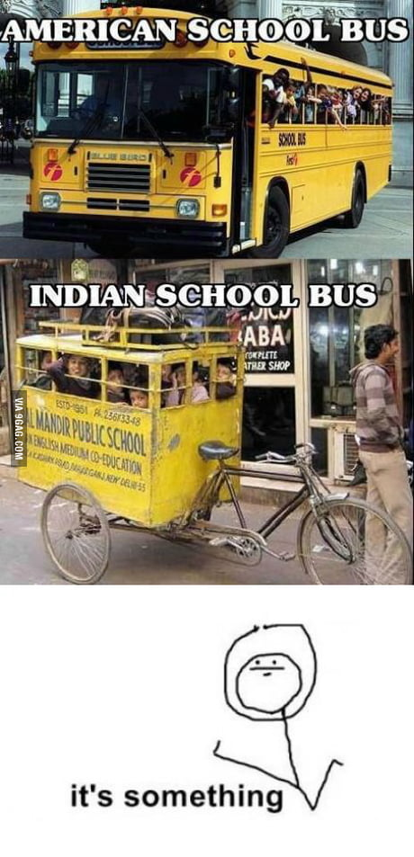 Indian School Bus 9gag