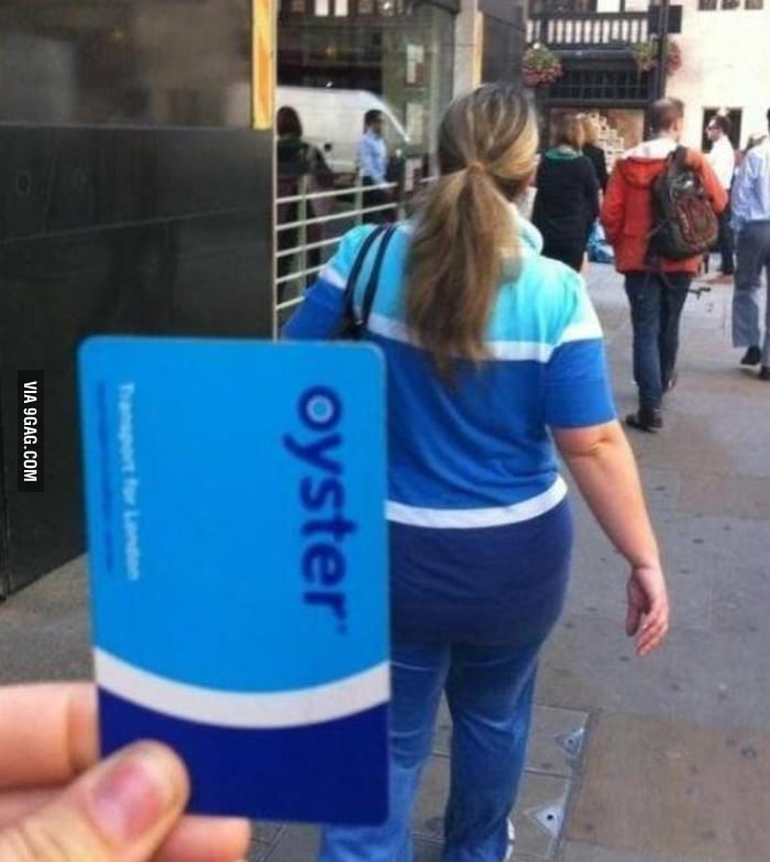 Dressed like an Oyster card