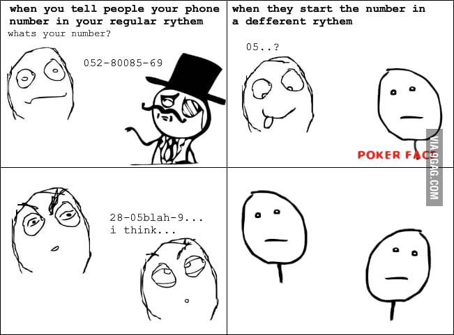 Phone number rage