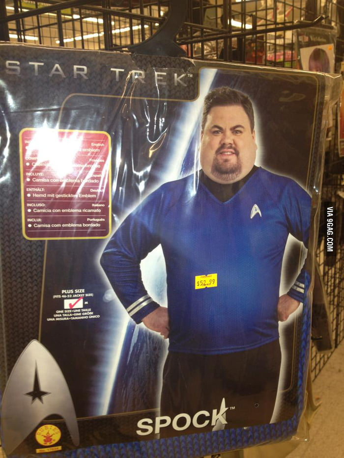 What happened to you, Spock?