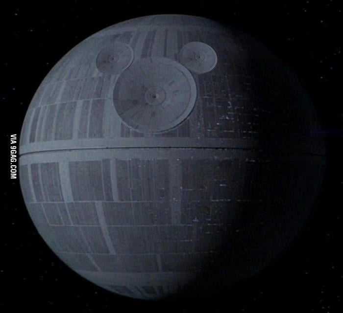 First thing I thought of when I knew Disney bought Lucasfilm