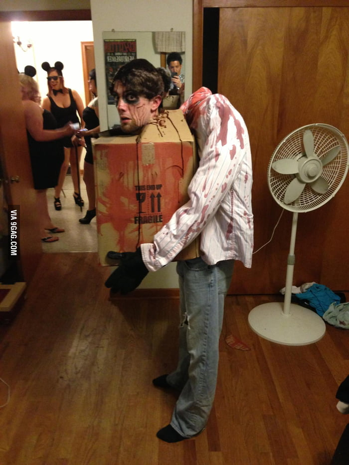 Hurt the back because of this costume