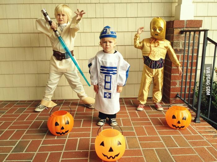 Apparently he didn't enjoy being R2-D2