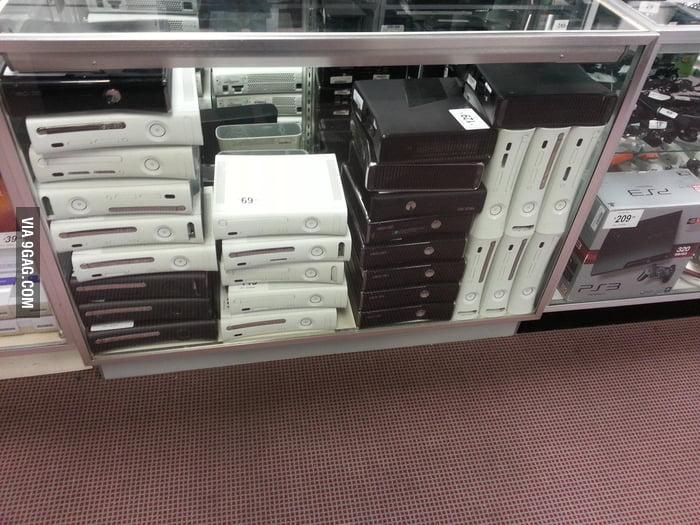 Thrift Shop aka Console Graveyard