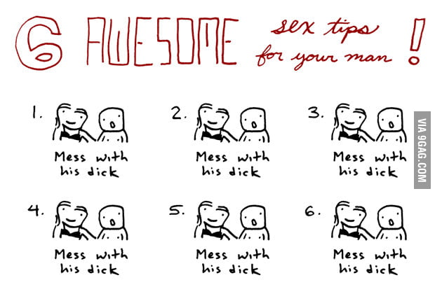 6 awesome sex tips for your man!