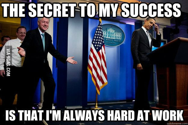 Bill Clinton shares his wisdom.