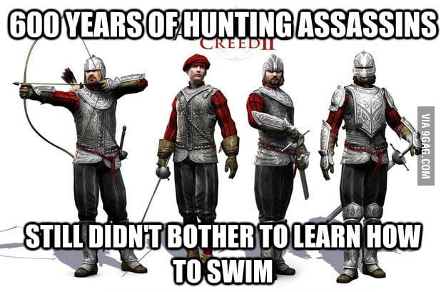 Assassins Creed Guards