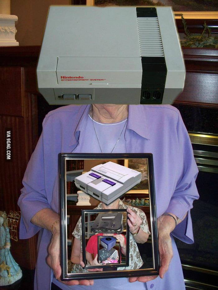 5 generations of Nintendo family.