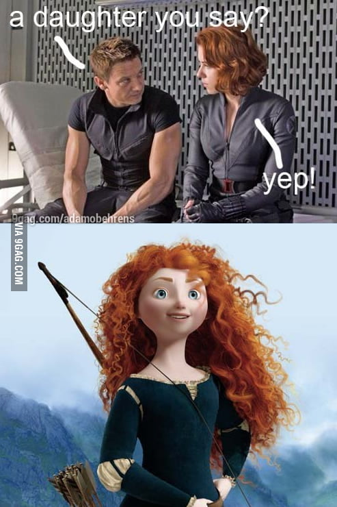 Hawkeye's daughter