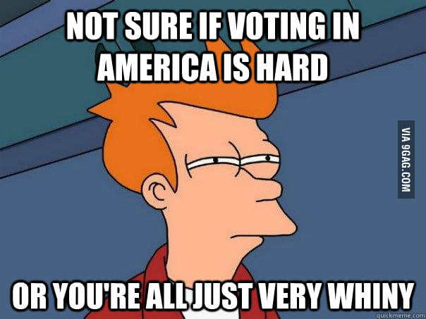 How I feel today as a Non-American.