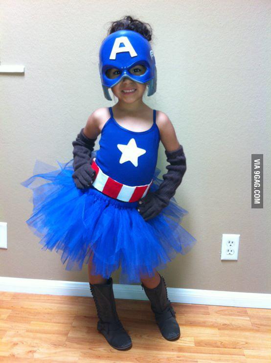 Cute Captain America