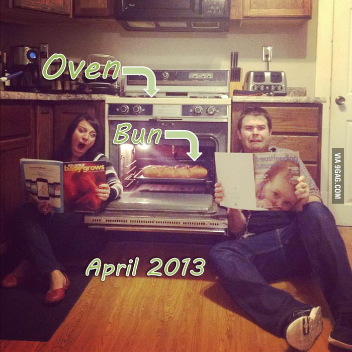 How my friends announced they were having a baby.