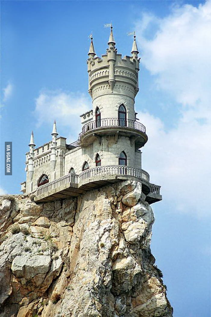 Swallow's Nest Castle in Crimea, Ukraine