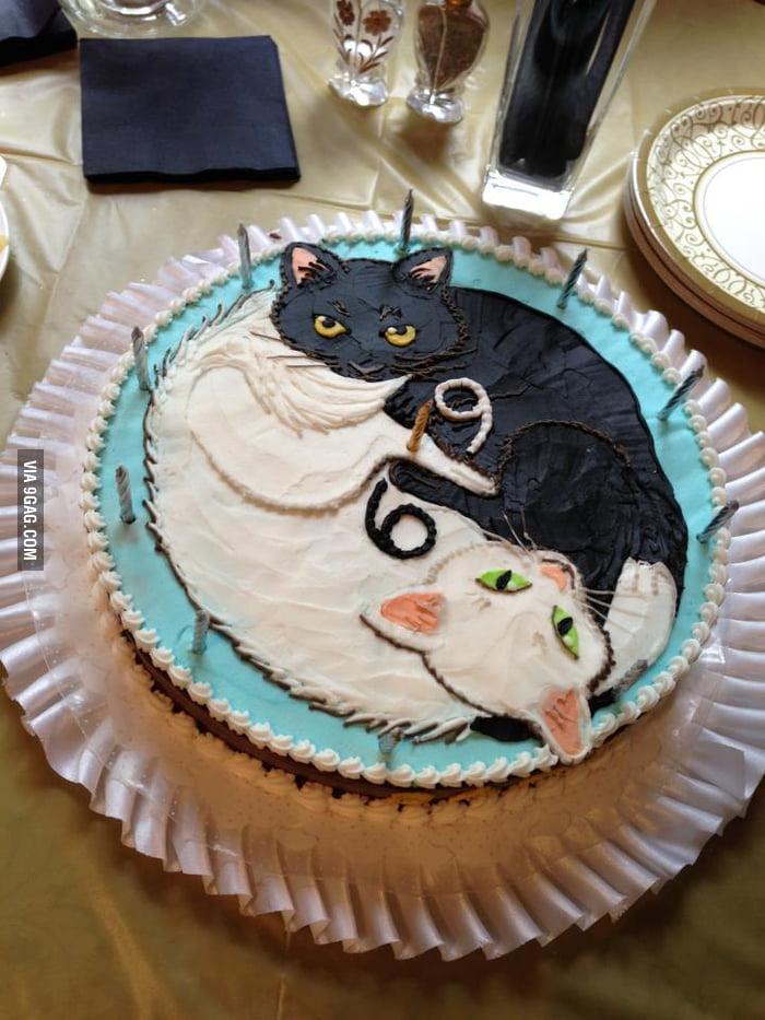 Grandma's 69th birthday cake.
