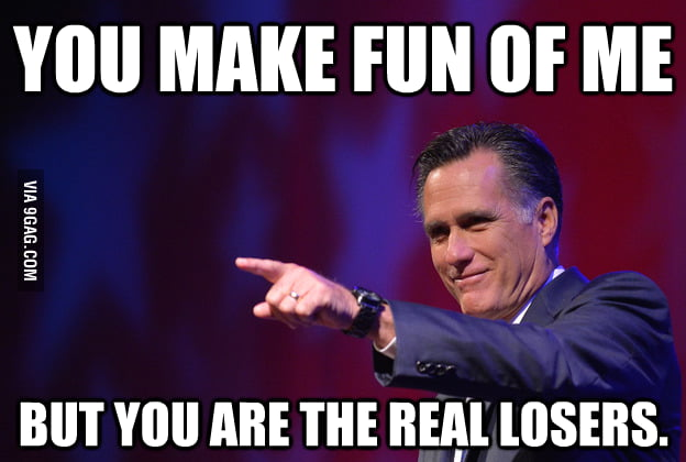 Mitt Romney's response to internet bullying.