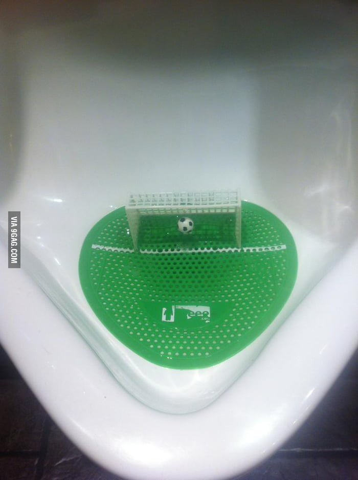Welcome, to the revolution of urinals.