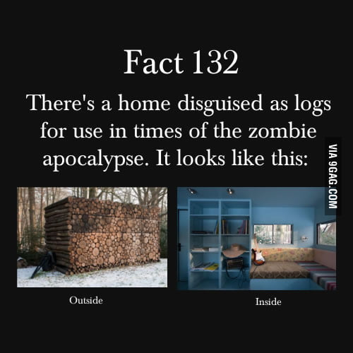 In times of zombie apocalypse.
