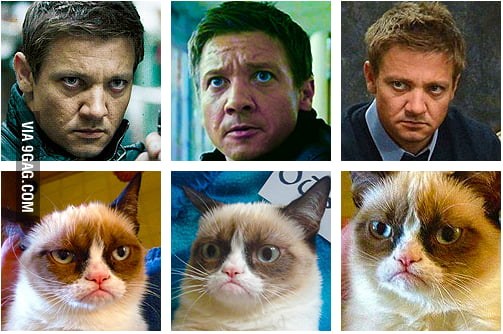 Grumpy Hawkeye had fun once, it was awful