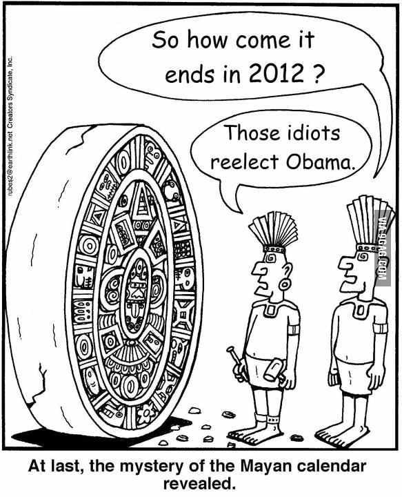 How come it ends in 2012?