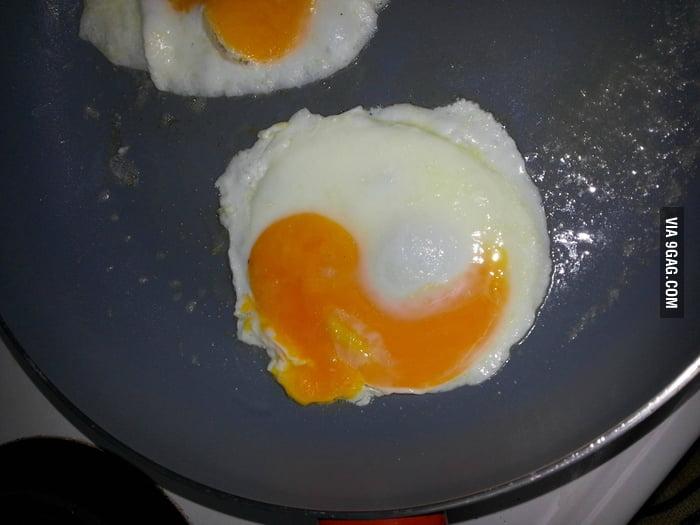 I got a balanced breakfast.