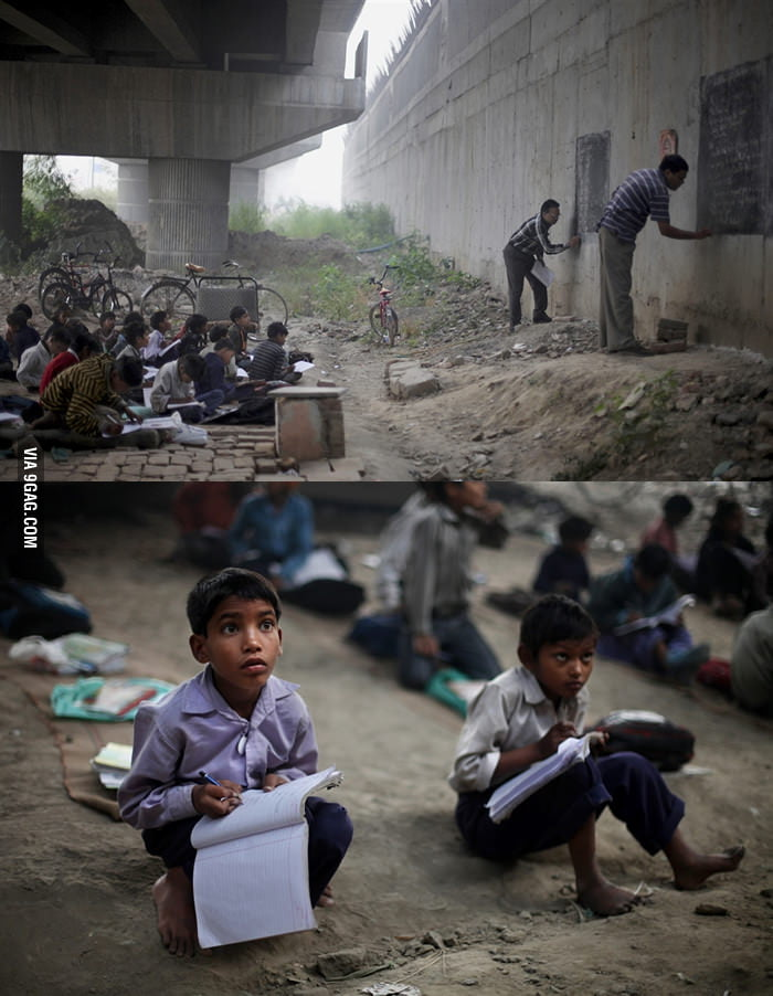Don't take your education for granted