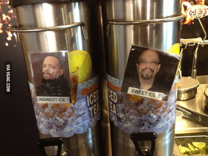 Unsweet Ice T and Sweet Ice T