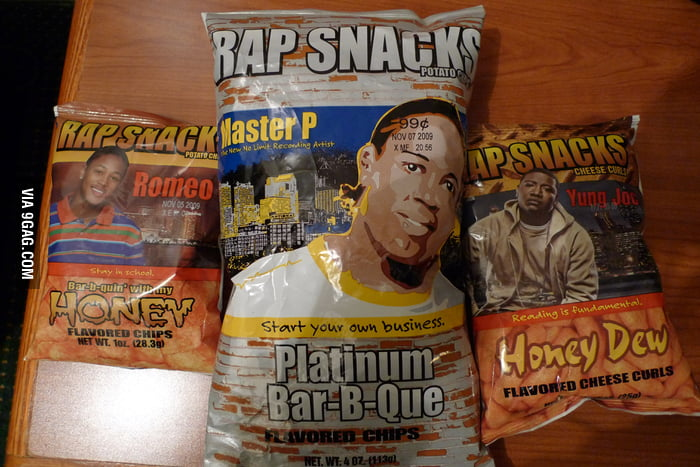 Snacks for rappers.