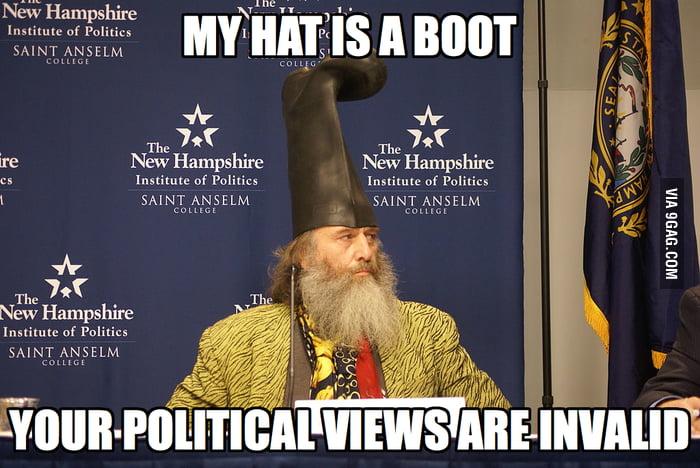 How I feel about politics