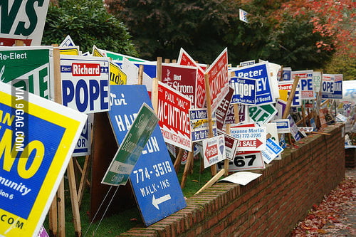 Alright candidates, time to clean up your litter.