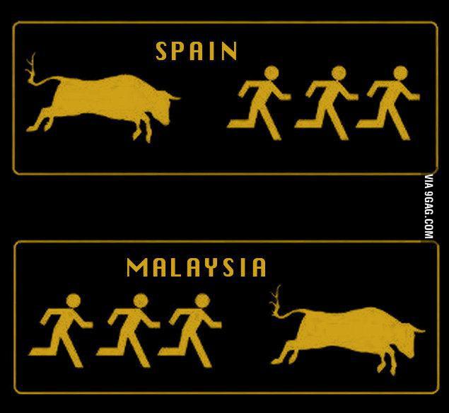 In malaysia....