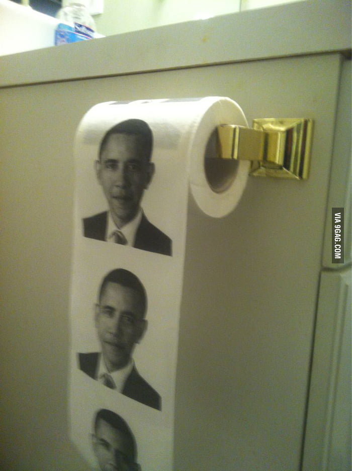 At the bathroom of my conservative friend's house.