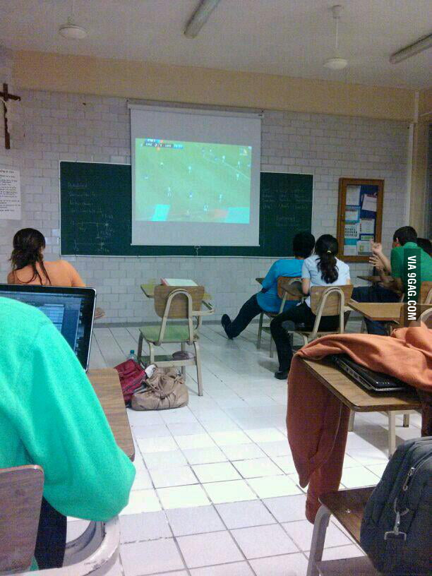 Meanwhile in a Mexican University