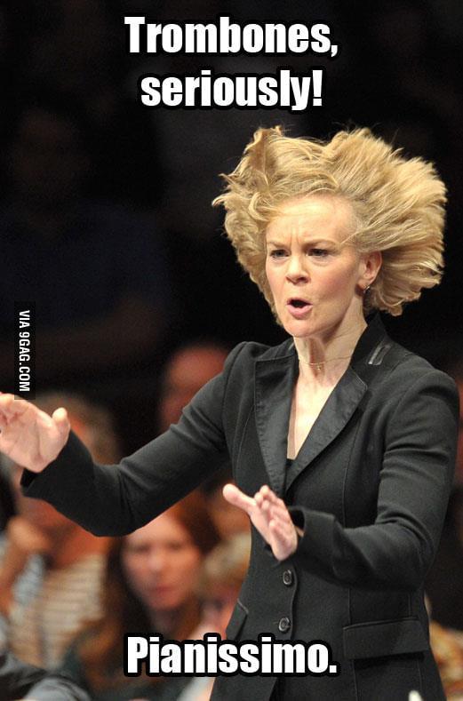 Trombones, seriously!