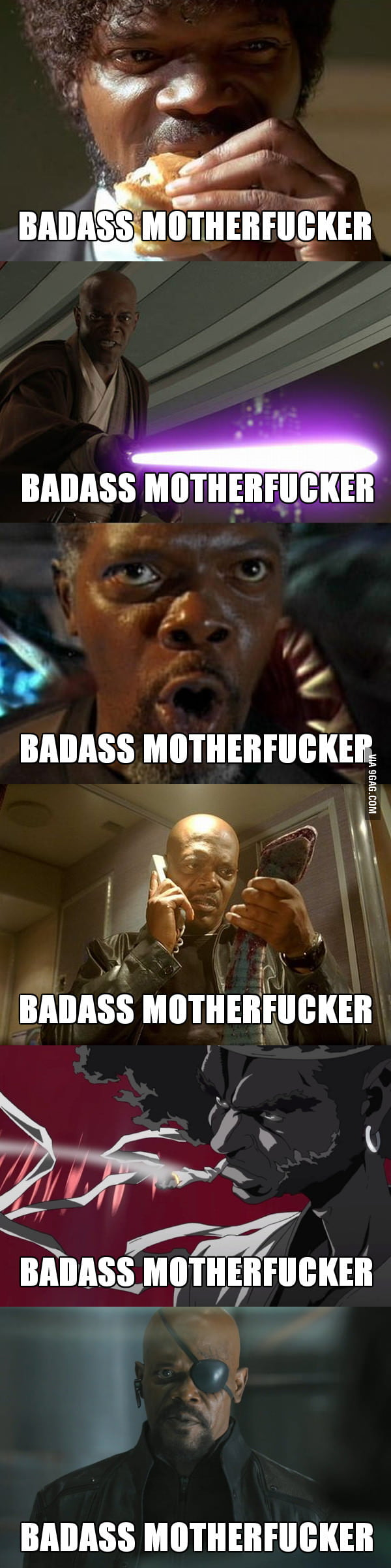 Samuel L. Jackson is the most typecast actor.