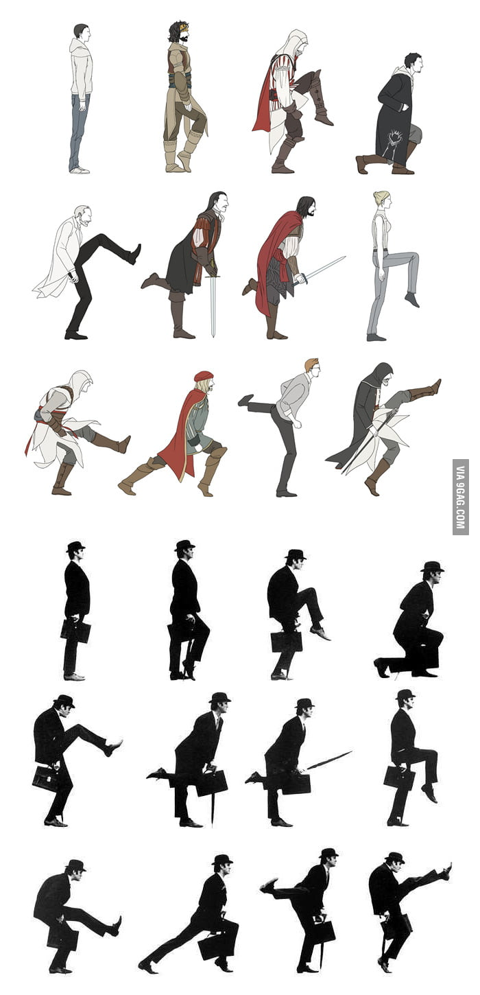 Assassin's Ministry of Silly Walks