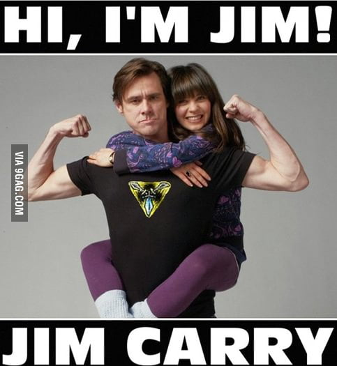Just Jim Carry