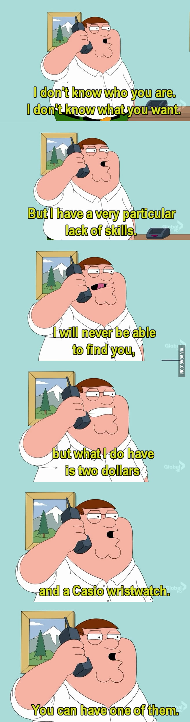 Lois, Meg's dead!