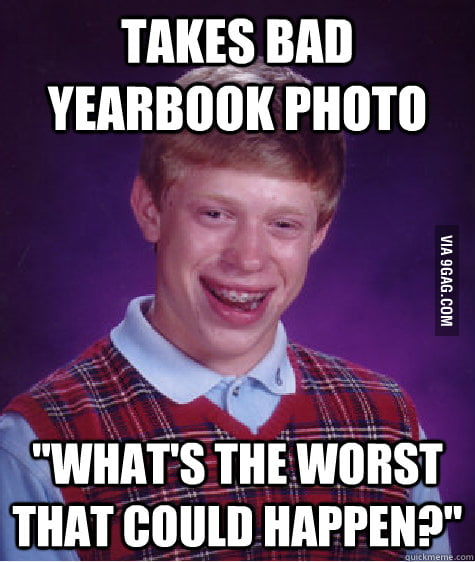 Bad Luck Brian: Origins