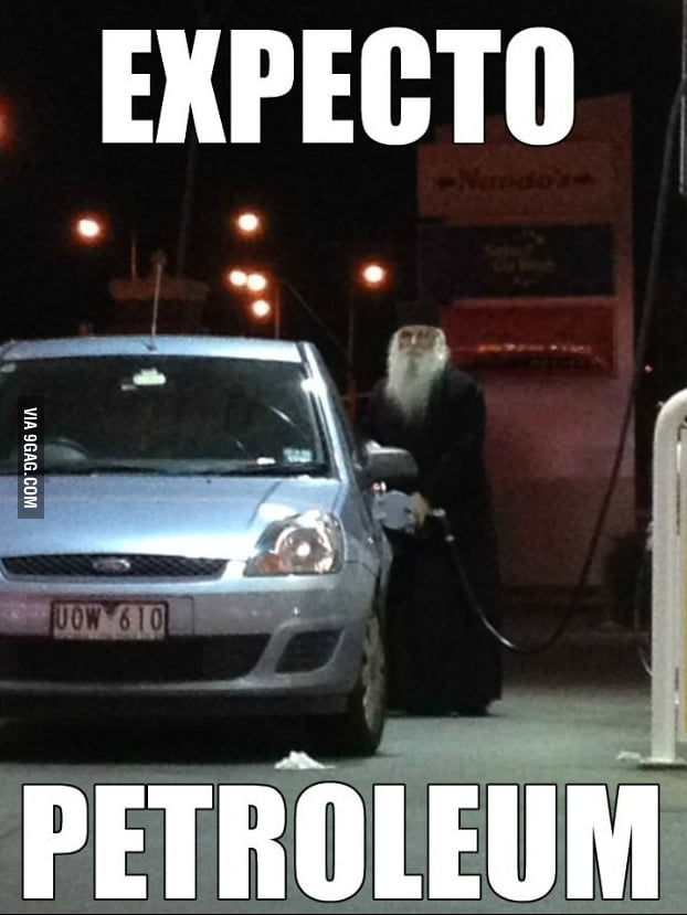 Dumbledore always shows up in the oddest places.