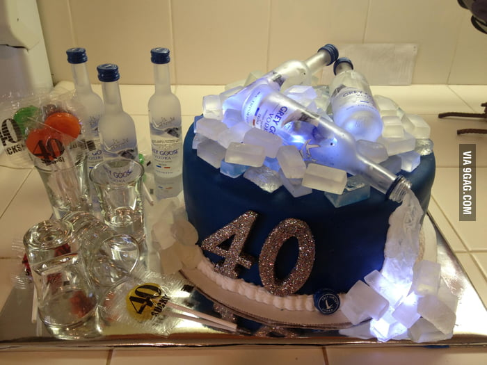 I want this cake for my 40th birthday!