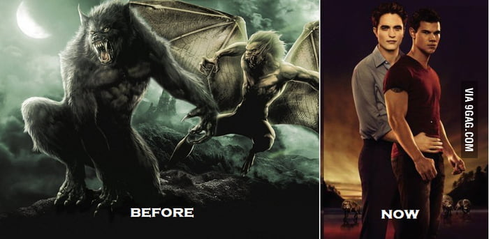 Vampires & Werewolves: Before & Now