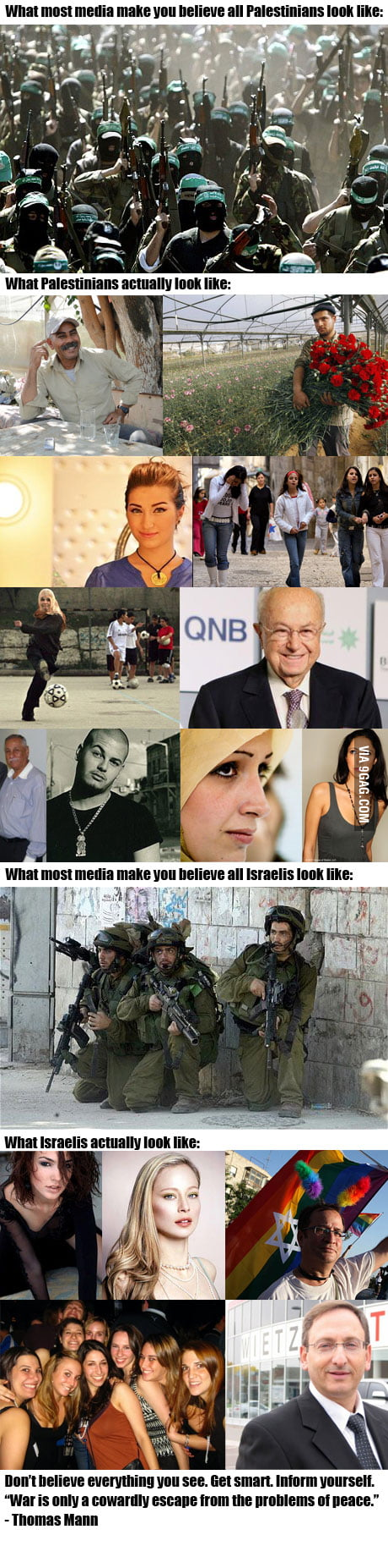 How the media show us Palestinians and Israelis