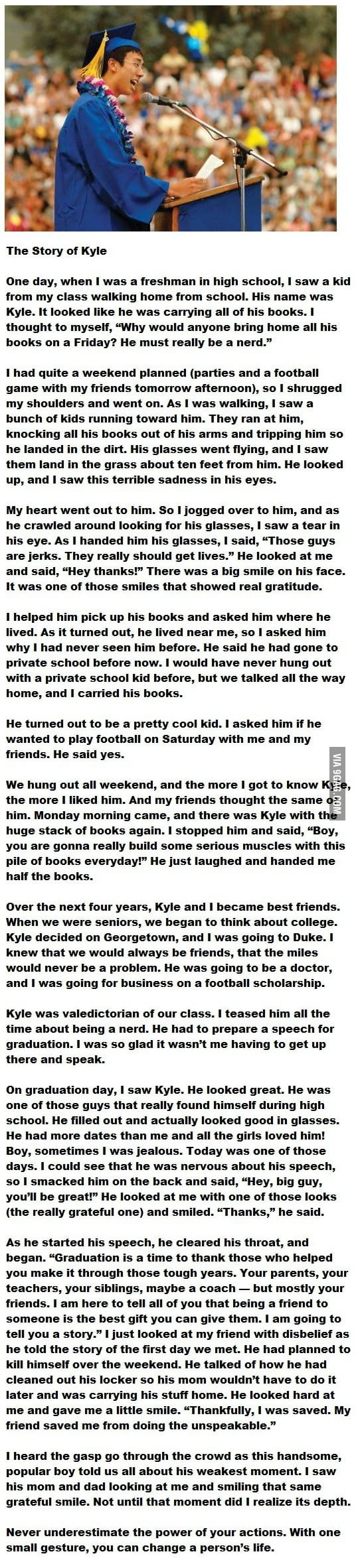 Very long...But seriously worth the read