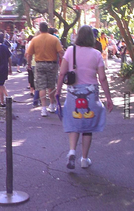 I think Micky Mouse has discovered a whole new world.