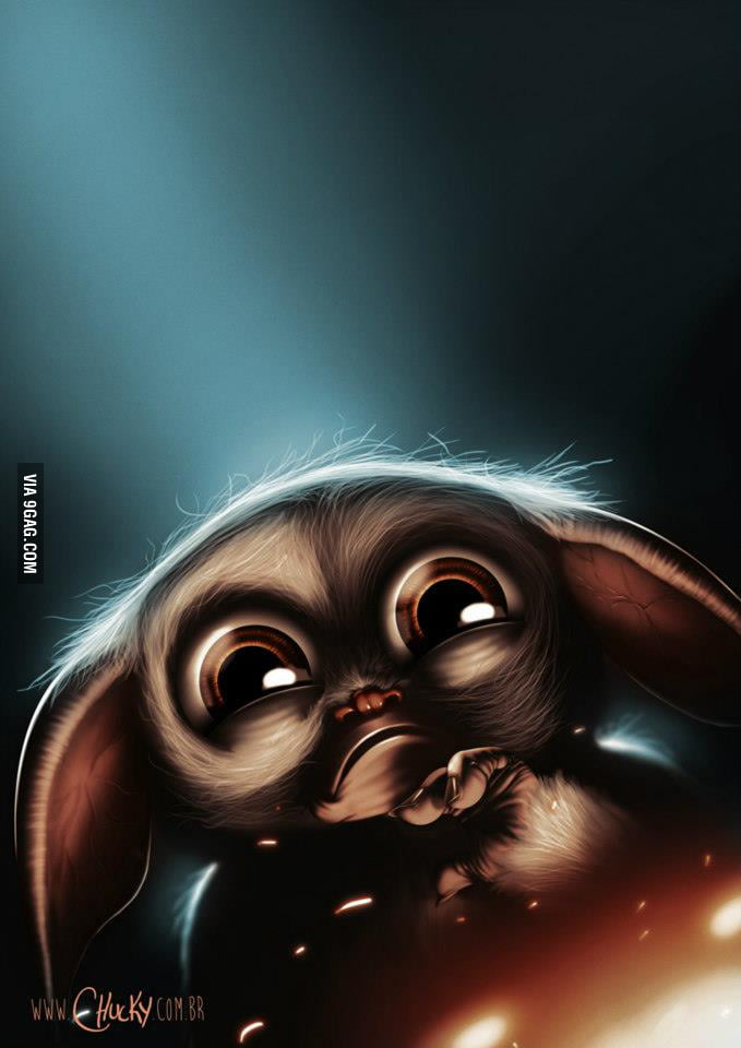 Gizmo from Gremlins, made by a friend!
