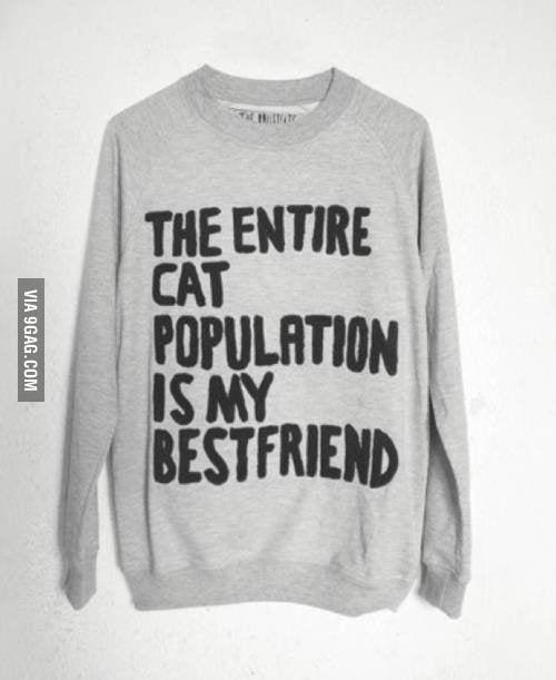 I have found my sweatshirt.