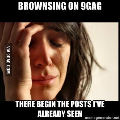 First 9gag problem